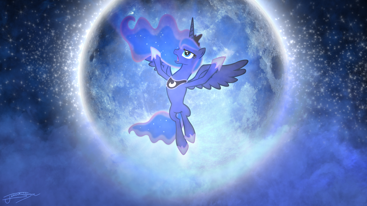 Princess Luna - Night of the Full Moon by Jamey4