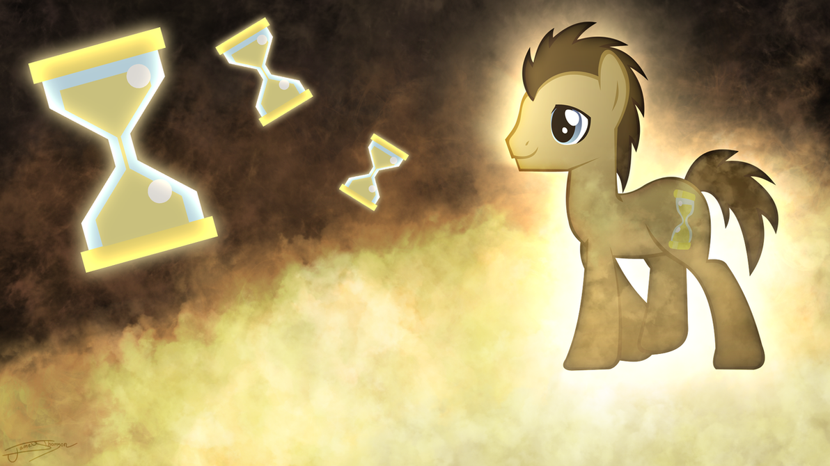 Dr. Whooves - Wibbly Wobbly Timey Wimey by Jamey4