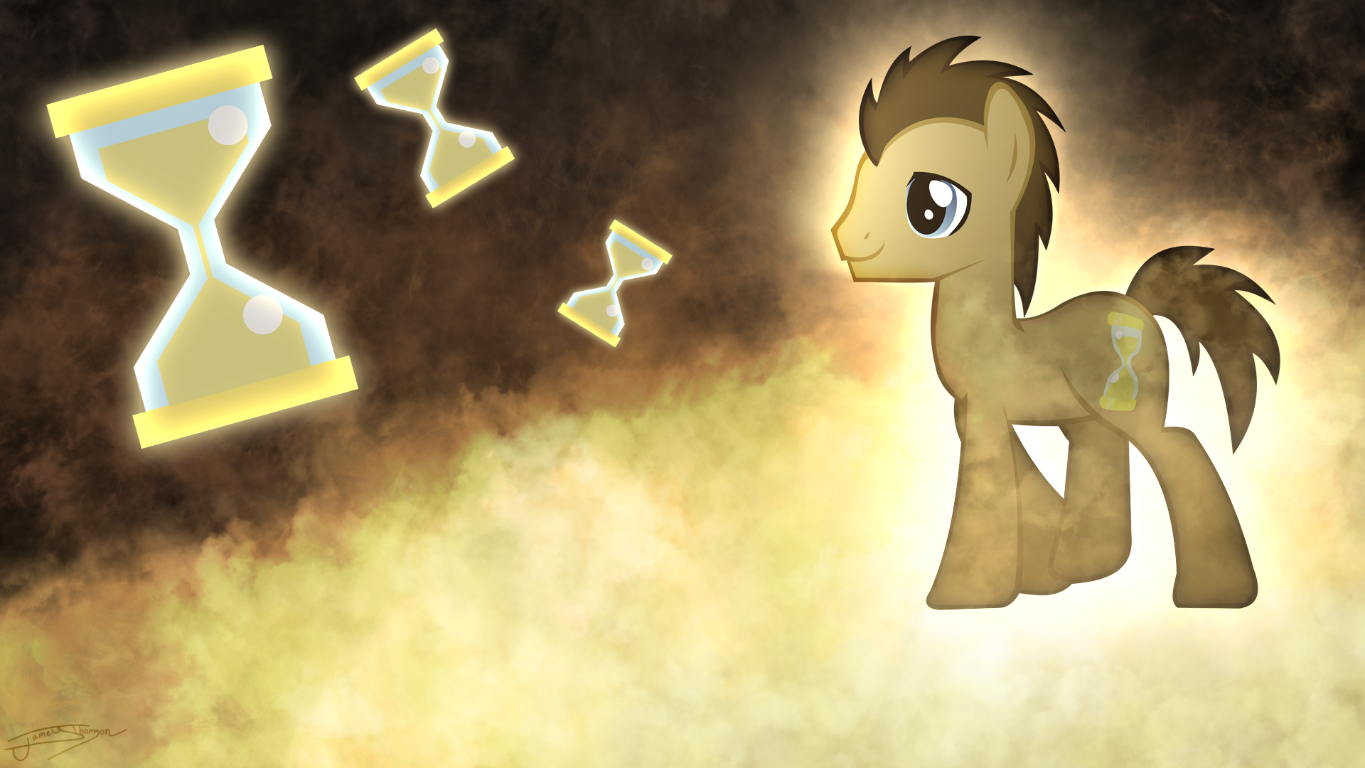 Dr. Whooves - Wibbly Wobbly Timey Wimey