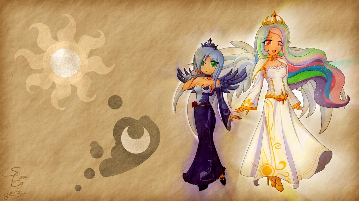 Princess Celestia Princess Celestia And Princess