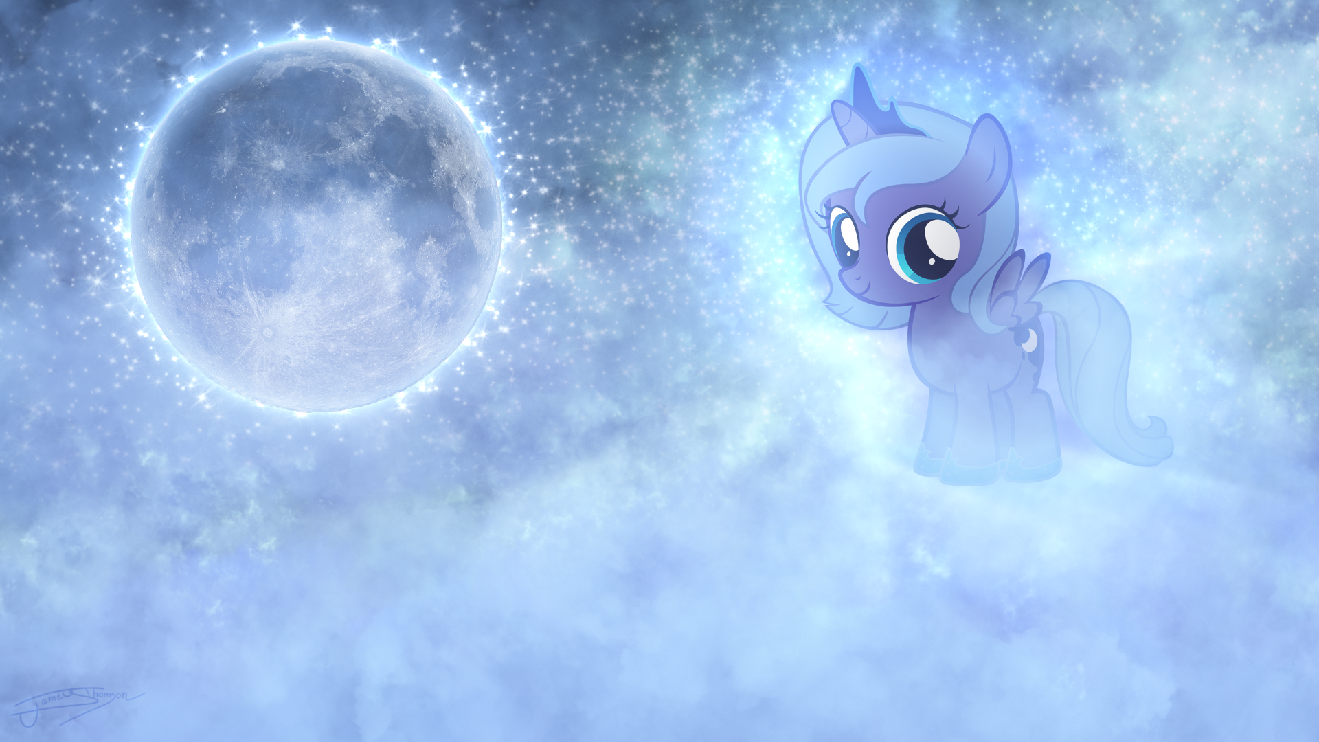 Filly Luna - Shadows of the Moonlight by Jamey4