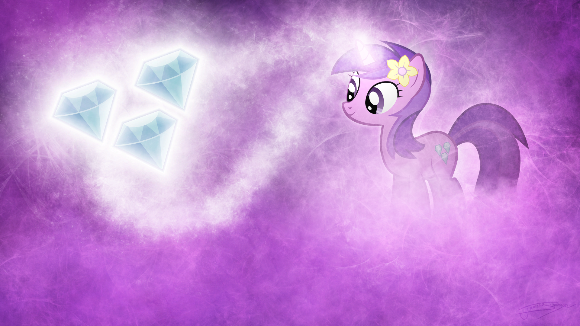 Sparkling Amethysts by Jamey4
