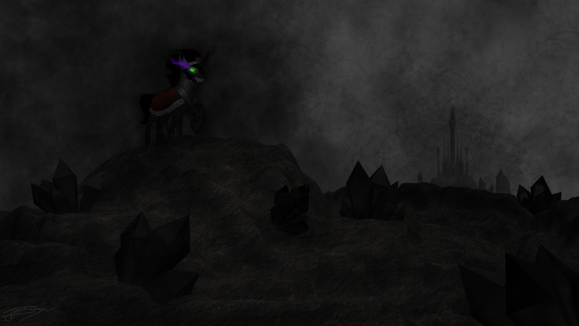 Enshrouding Darkness by Jamey4