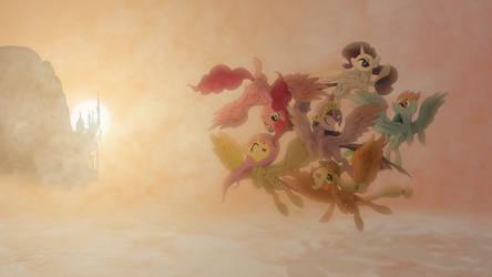 The Princesses of Harmony by Jamey4