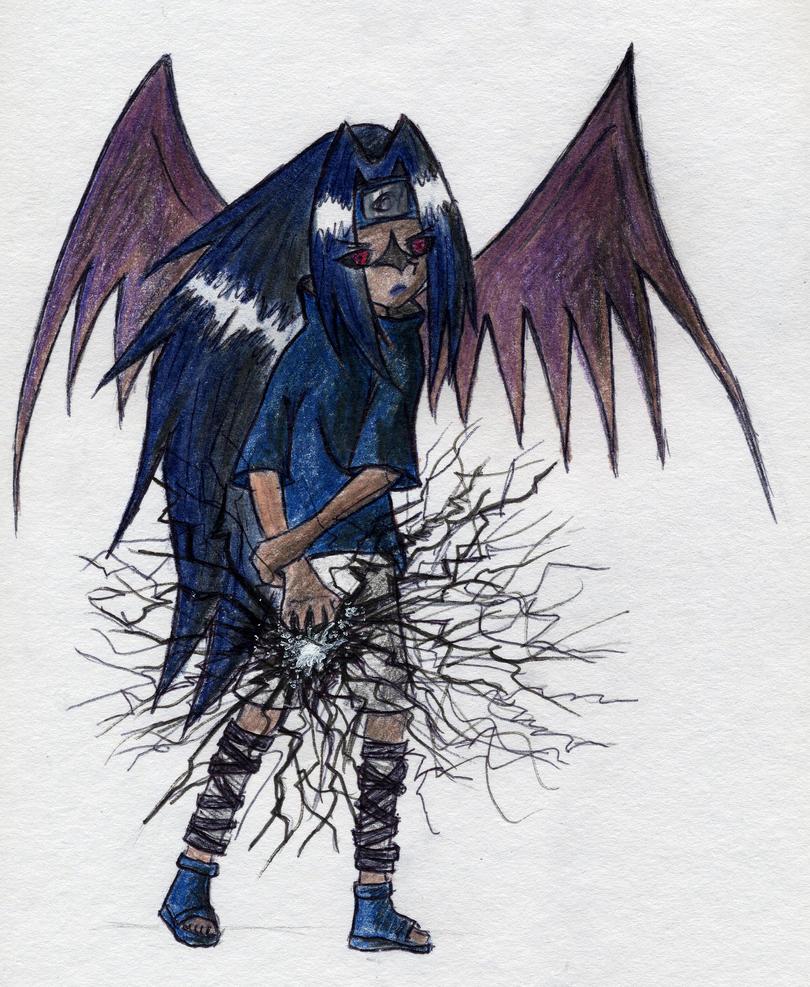 Lvl2 Sasuke: Black Chidori By Zeronix-Nin On DeviantArt