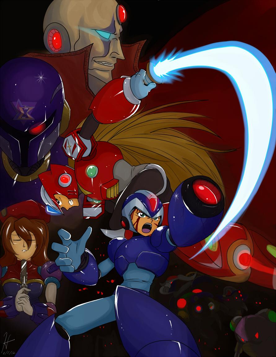 Rockman X by The-Blue-Wind