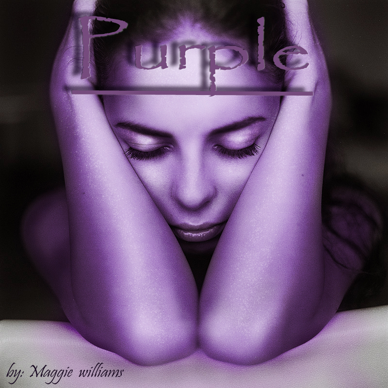 Book Cover: purple by maggei williams by CarolinaSoul