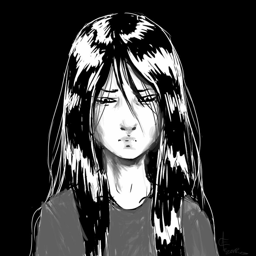 Pensive by Kohon-tsi