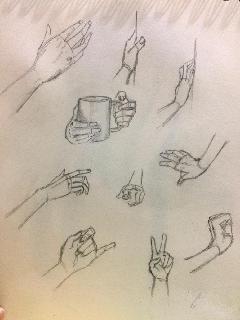 Hand Practices by janeydrey