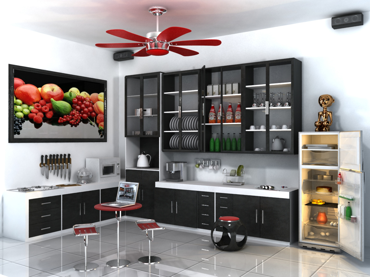 Delightful My Kitchen Art By TrayCazador My Kitchen Art By TrayCazador