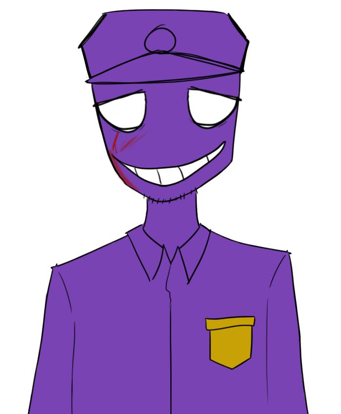 Purple guy by mini mooose on deviantart