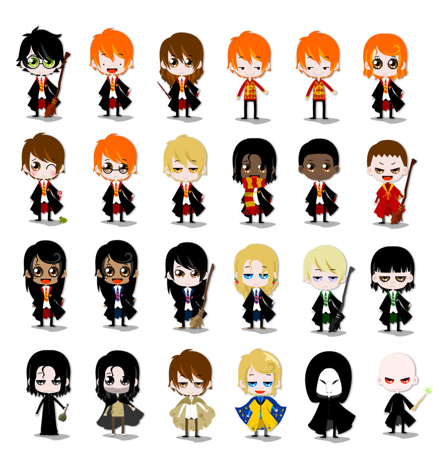 fun with harry potter dress up by wolf of the leaf on