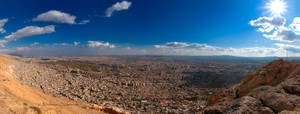 Damascus Top View V by ashamandour