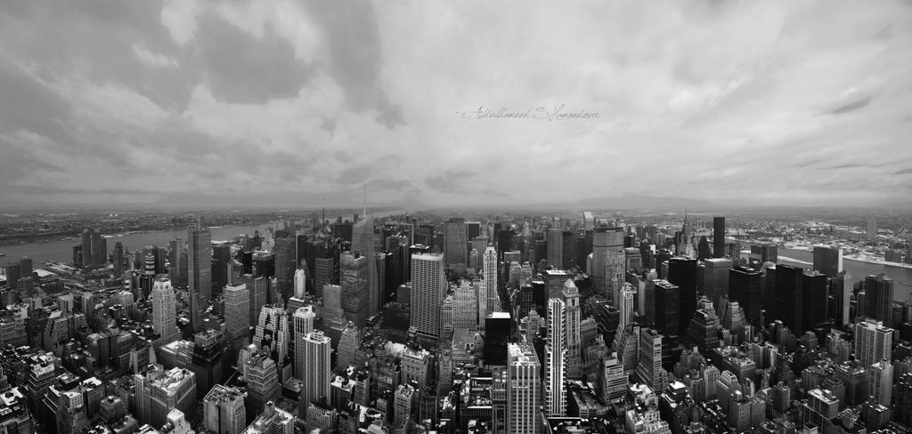 New York III Black And White By Ashamandour On DeviantArt