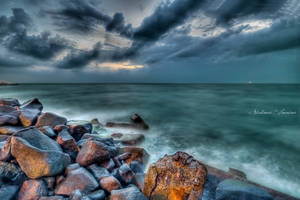 Clouds and Rocks by ashamandour