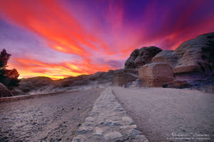 Fire Sky by ashamandour