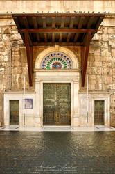 Omayyad Mosque Gate