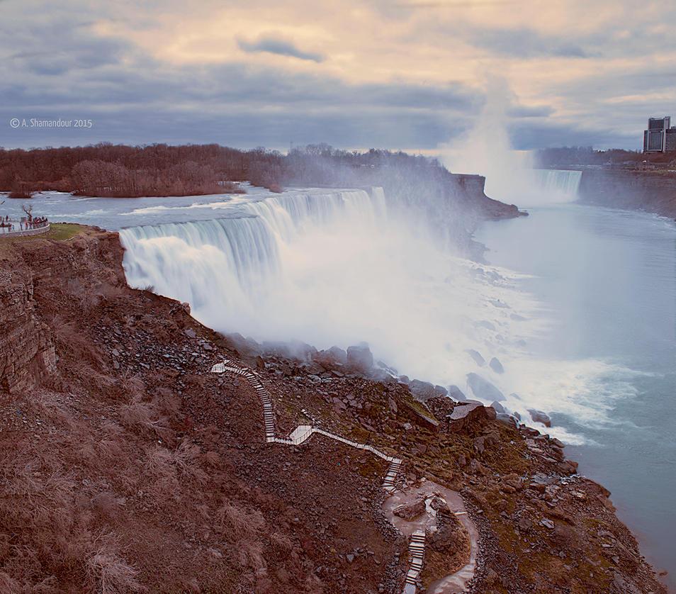 Niagara Falls by ashamandour