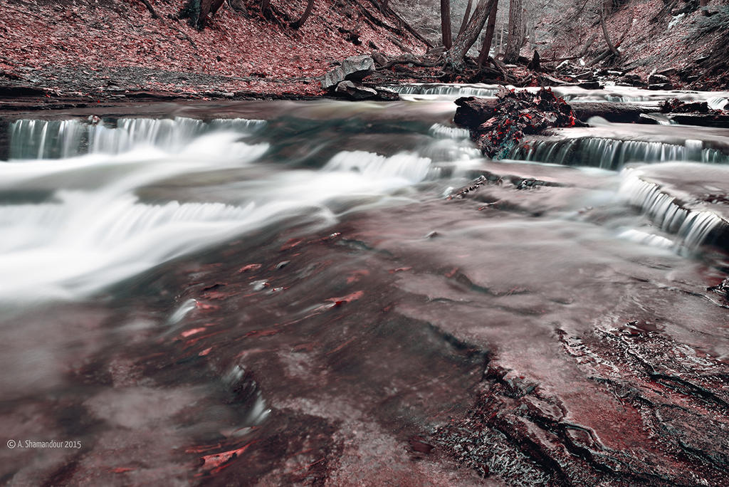 Red Stones by ashamandour