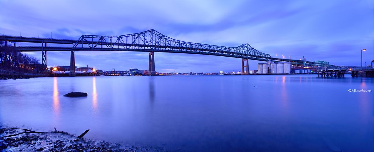 Tobin Bridge by ashamandour