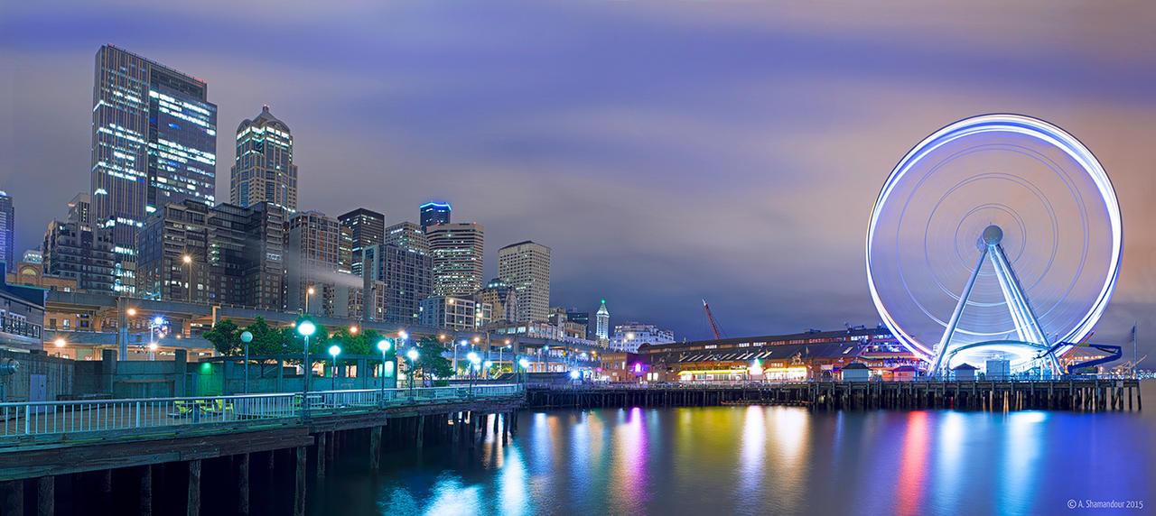 Seattle Great Wheel II by ashamandour