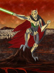 Grievous Onslaught by Nala15