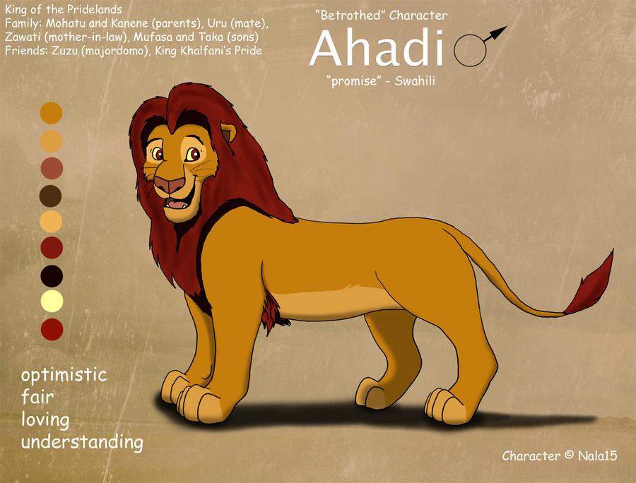 ahadi fan club Adult_ahadi_ref_sheet_by_nala15-d4tfrdy