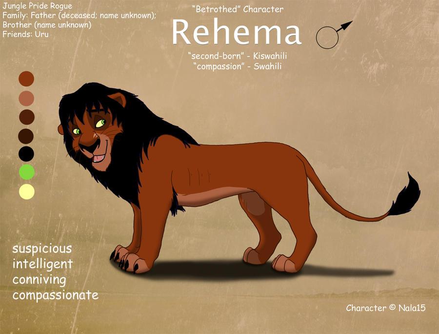 Rehema Ref Sheet by Nala15