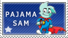 Pajama Sam Stamp by Nala15