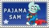 Pajama Sam Stamp by Nala15