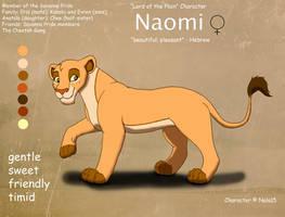 Naomi Ref Sheet