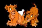 Baby Mufasa VS Baby Mufasa