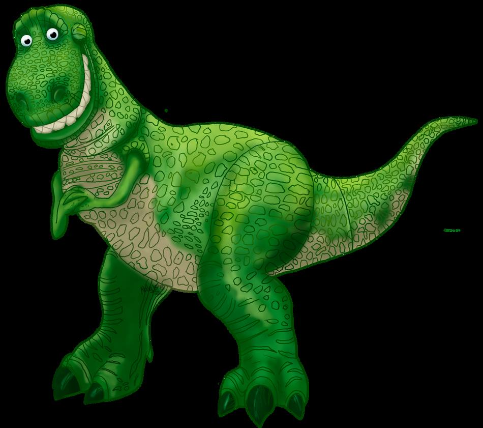 Rex disney heroes art jam by nala15 on deviantart - Dinosaure toy story ...
