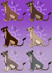 Lioness Point Adoptables Auction - CLOSED