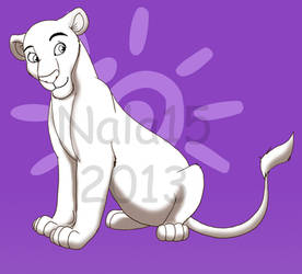 Lioness Adoptables (.psd line art) - 20 POINTS! by Nala15