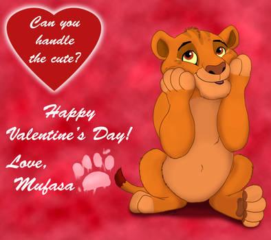 ''King of Cuteness'' - Valentine