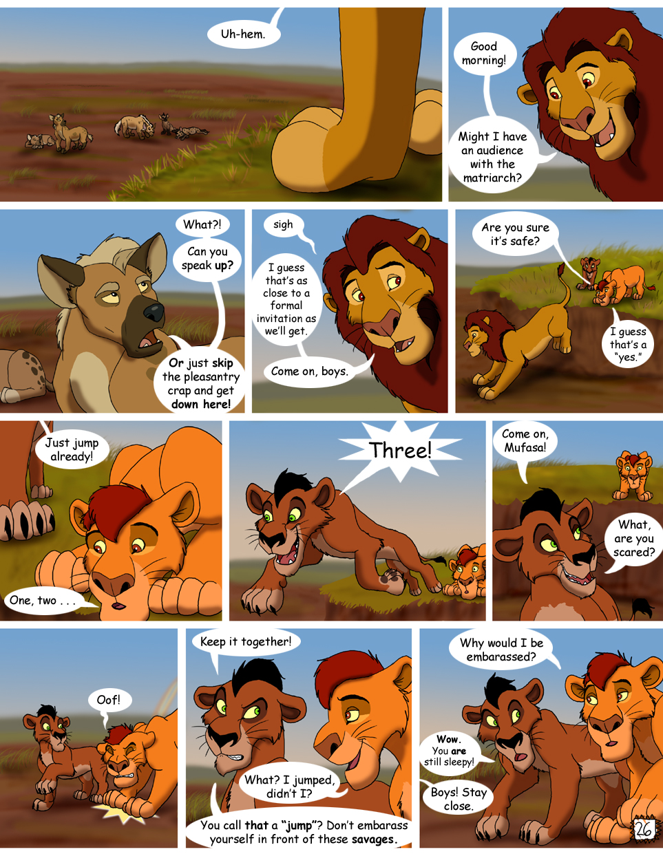 Brothers - Page 26 by Nala15