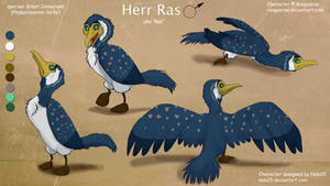 Herr Ras - Ref Sheet by Nala15