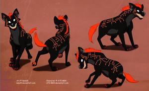 Circuit Hyena - Custom Character by Nala15