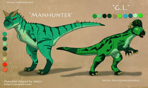 Dino Adopt Auction! Closed - Carno and Pachy by Nala15