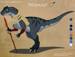 Allosaurus Adopt - Closed by Nala15