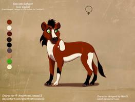 Elicia X Rehema- foal (cub?) for AmethystLioness13 by Nala15