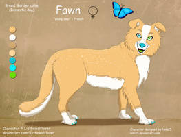 Fawn - OC Ref Sheet Commission by Nala15