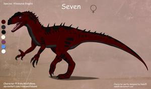 Seven - OC Design Commission by Nala15