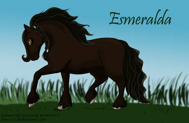 Esmeralda - Horse Adoptable OTA OPEN by Nala15