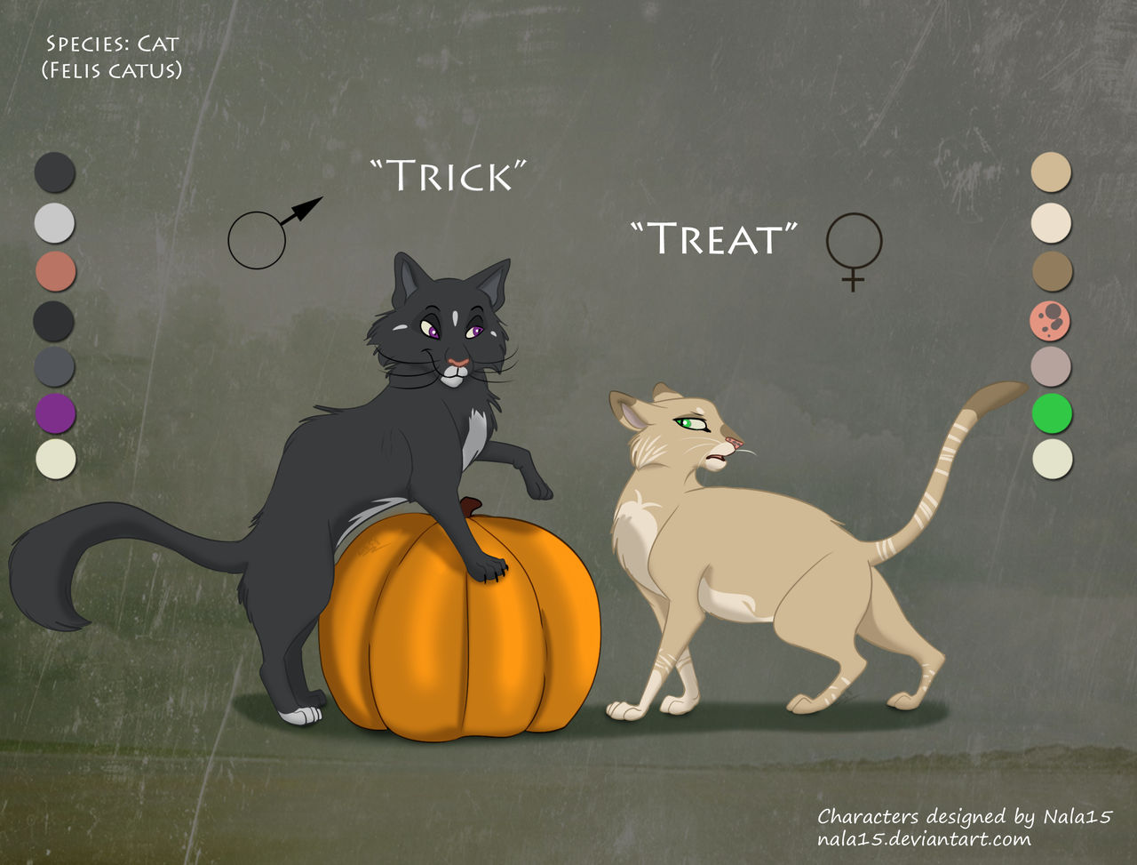 Trick or Treat - Halloween Adopt Auction [CLOSED] by Nala15
