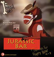 Fossil Fuel Promo - Jurassic Bar by Nala15