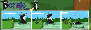 Bernie the Badger #2 - Bathtime