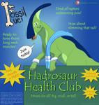 Fossil Fuel Promo - Hadrosaur Health Club by Nala15