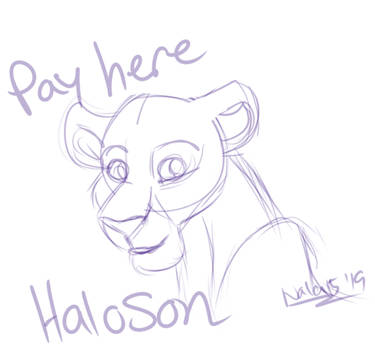 Pay HERE - HaloSon by Nala15
